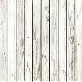 StudioPRO Heavy Duty Photography Vinyl Backdrop Background Picturesque White Wood Floor - 3 ft x 3 ft