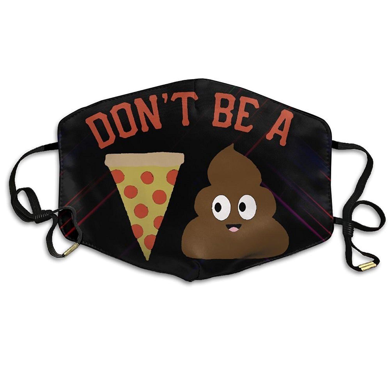 Amazon.com: No ser una pizza Poo anti polvo Boca máscaras de ...