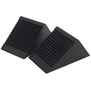 Draper 54500 Rubber Wheel Chocks (Pair)