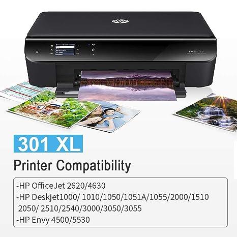 Gmoher Remanufacturado Cartucho de Tinta para HP 301XL 301 Alto ...