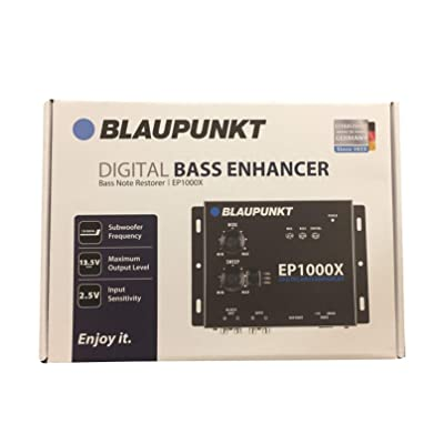 Blaupunkt EP1000X Digital Bass Enhancer Bass Note Restorer: Car Electronics