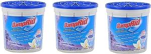 DAMPRID Moisture Absorber, 10.5oz, Lavender Vanilla (3 Pack)