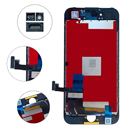 Screen-Fix Screen Replacement for iPhone 8 Screen 3D Touch LCD Screen  Digitizer Replacement Display Assembly Repair Kits Tools and Instruction  (Black)