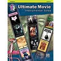Ultimate Movie Instrumental Solos: Trombone (Book & CD)