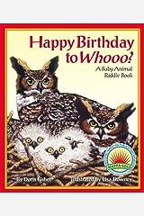 Happy Birthday To Whooo? Kindle Edition
