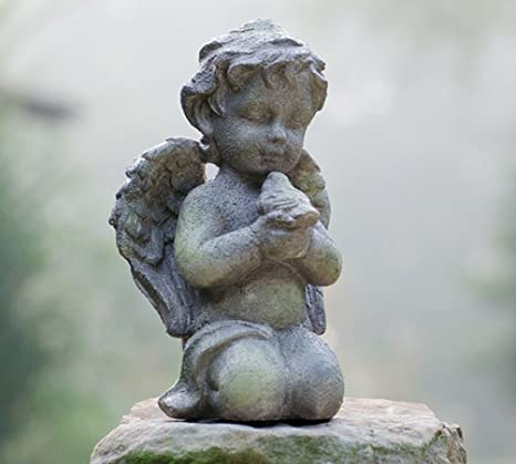 Angel Garden Statue Resin Cherub