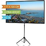 celexon pantalla de trípode Ultra-lightweight 177x100cm