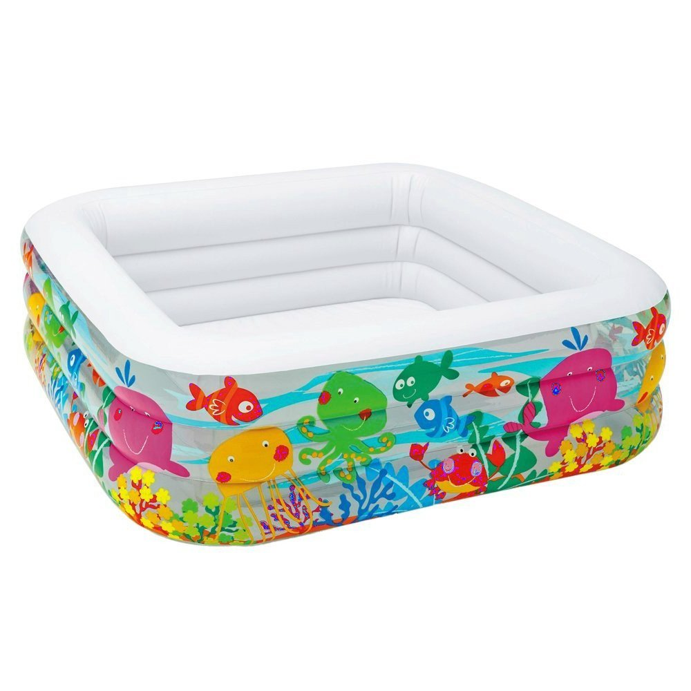 jnwd Inflatable Kiddie Pool Summer Outdoor Family Patio Water Fun Small Backyard Garden Swimming Play Center & e-Book by jn.Widetrade. by jnwd