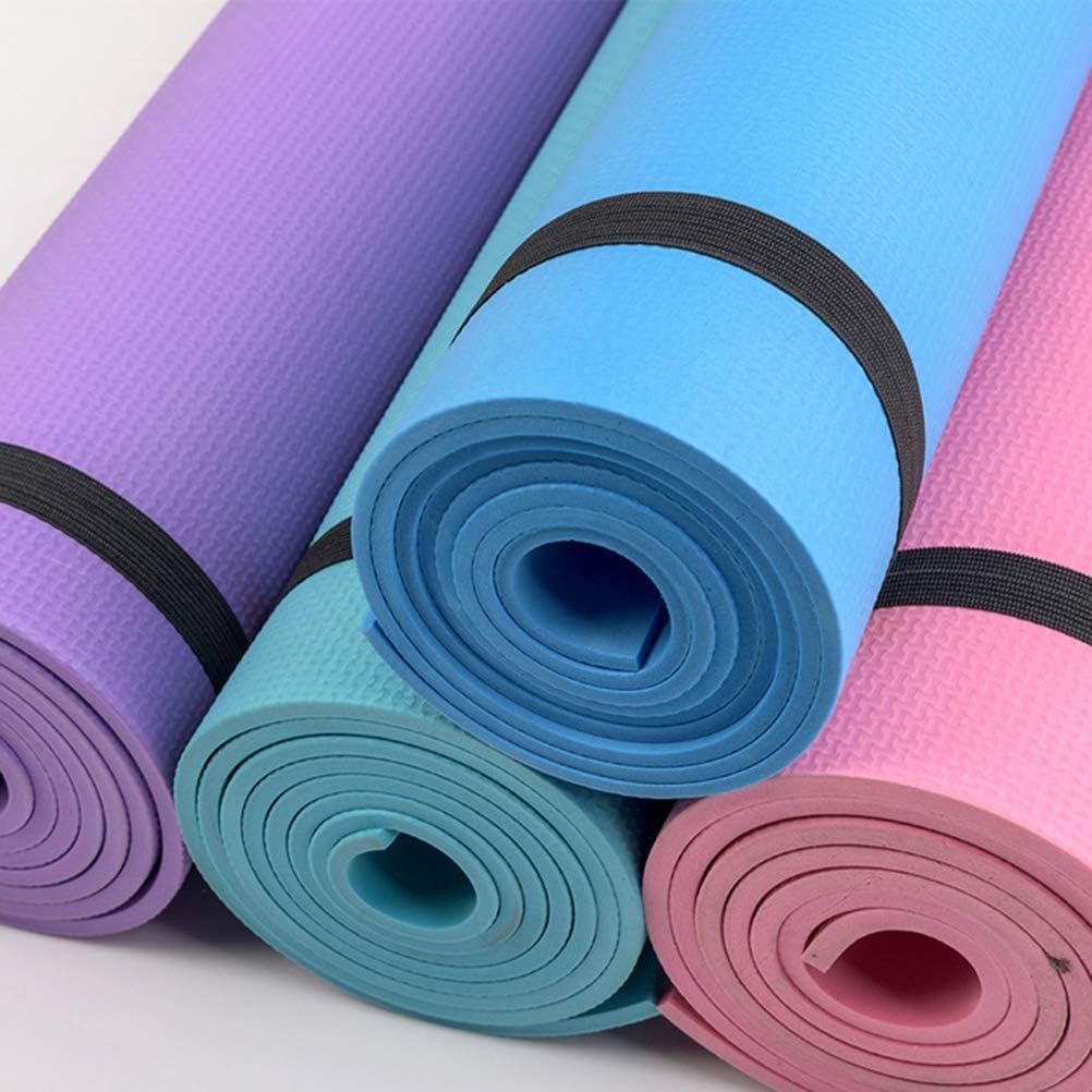 Pilates Meditazione 173 Borstu 4MM Yoga Mat Eva Antiscivolo Gym Mat Fitness Slim Sport Mat per Yoga 0.4 cm 60