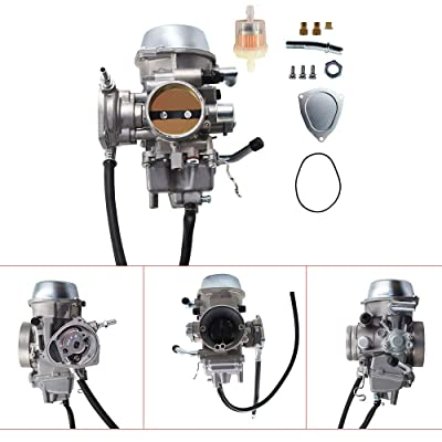 New Carb Fit for Yamaha Grizzly 600 660 YFM600 YFM660 ATV Carburetor Yamaha Grizzly 660: Automotive