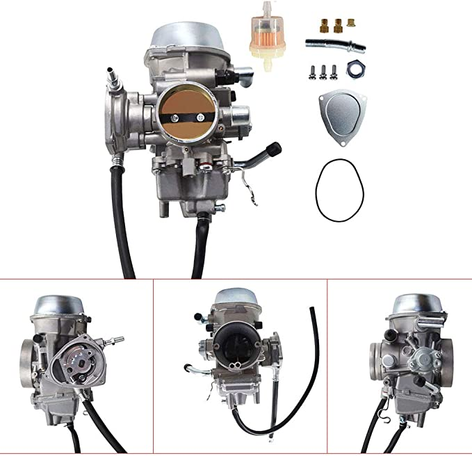 Lizudian Replacement Carburetor fit for ATV 2002 2003 2004 2005 2006 2007 2008 Yamaha Grizzly 660 YFM660 4x4 Carb