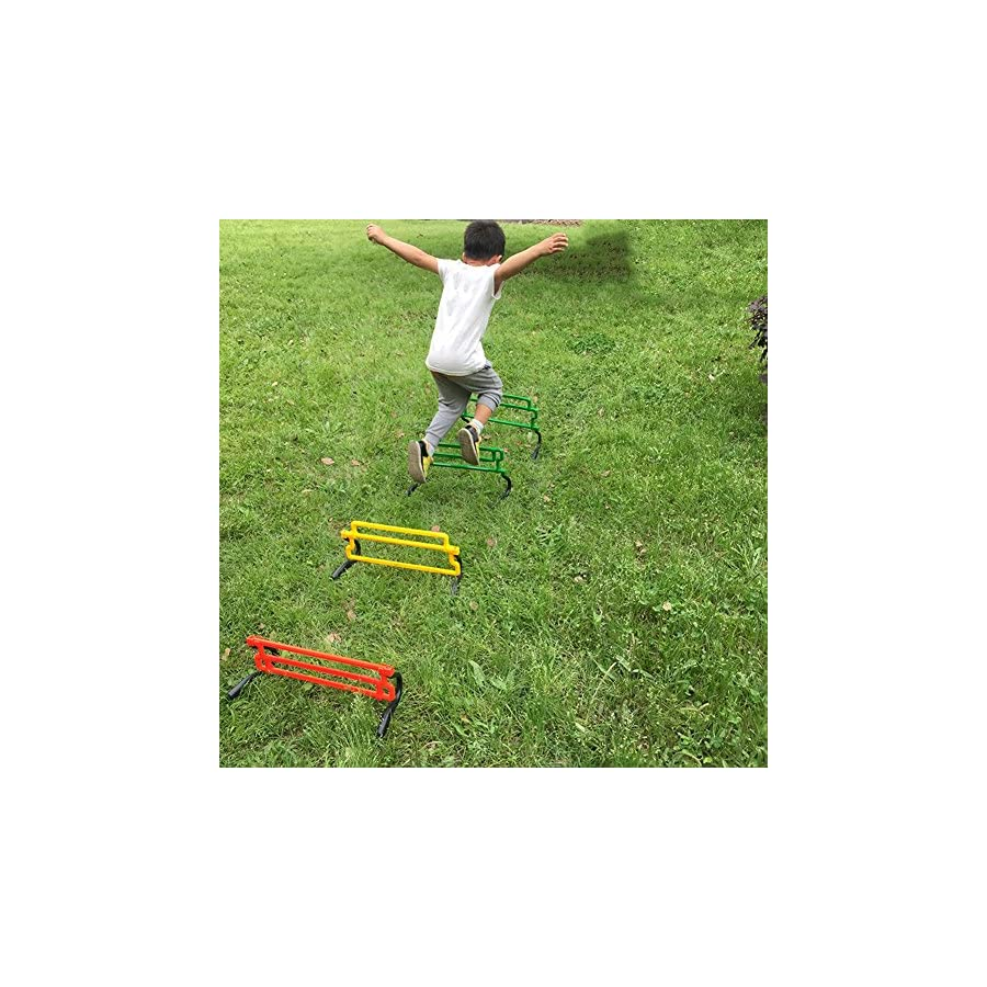 Gracefulvara Removable Football Training Sports Tool for Hurdle Jump Soccer Agility