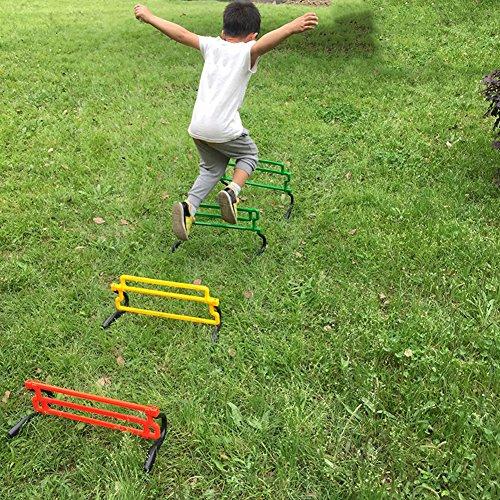 Gracefulvara Removable Football Training Sports Tool for Hurdle Jump Soccer Agility