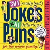 304 Really Bad Jokes + 61 Hilarious Puns Page-A-Day Calendar 2016