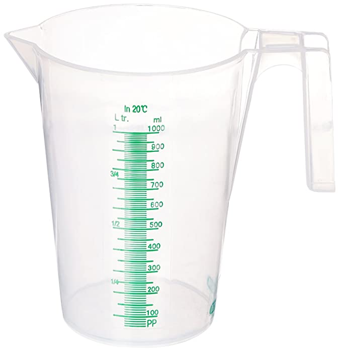 Hydrofarm HGMC1000 Measuring Cup 1000ml, 1000 ml