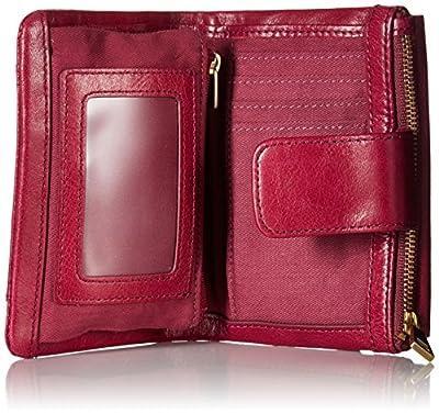 Fossil Ellis Multifunction Wallet Raspberry Wine Wallet