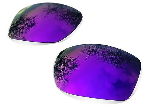 Sunglasses Restorer Lentes Polarizadas de Recambio Purple Mirror para Oakley Jupiter Squared