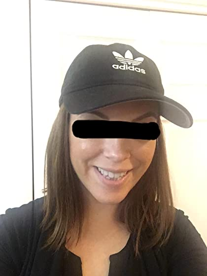 adidas Women's Originals Relaxed Fit Strapback Cap Attractive hat!