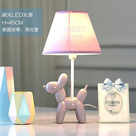 YU-K El perro de globo atenuable LED lámpara de mesa lámpara ...