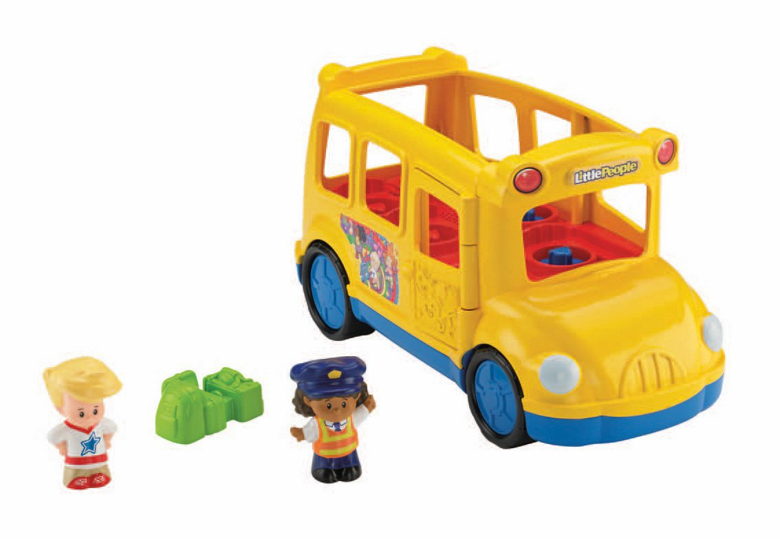 Fisher Price Little People Lil Movers School Bus: Amazon.co.uk ...