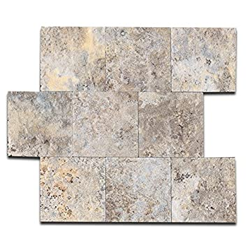 Amazoncom Yipscazo Pvc Peel And Stick Tile Backsplash For Kitchen