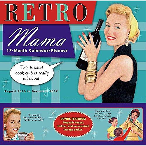 Retro Mama 2017 Wall Planner Calendar