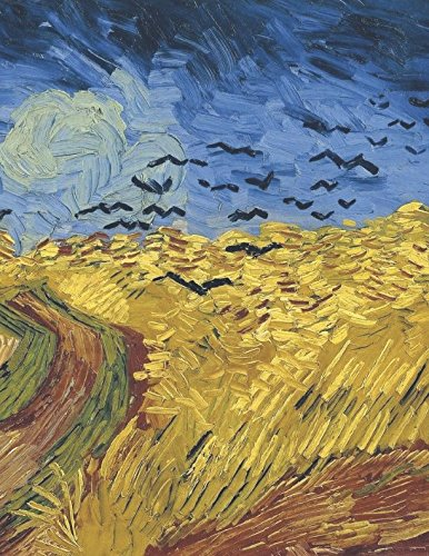 (600 Page Sketchbook: Vincent Van Gogh Wheatfield with Crows Art Journal for Doodling and Sketching)