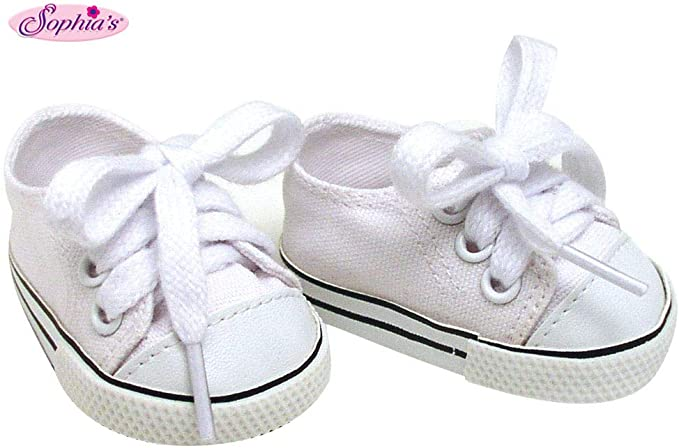 Lavender Tennis Shoes fit American Girl Doll 18 Inch Clothes Seller lsful