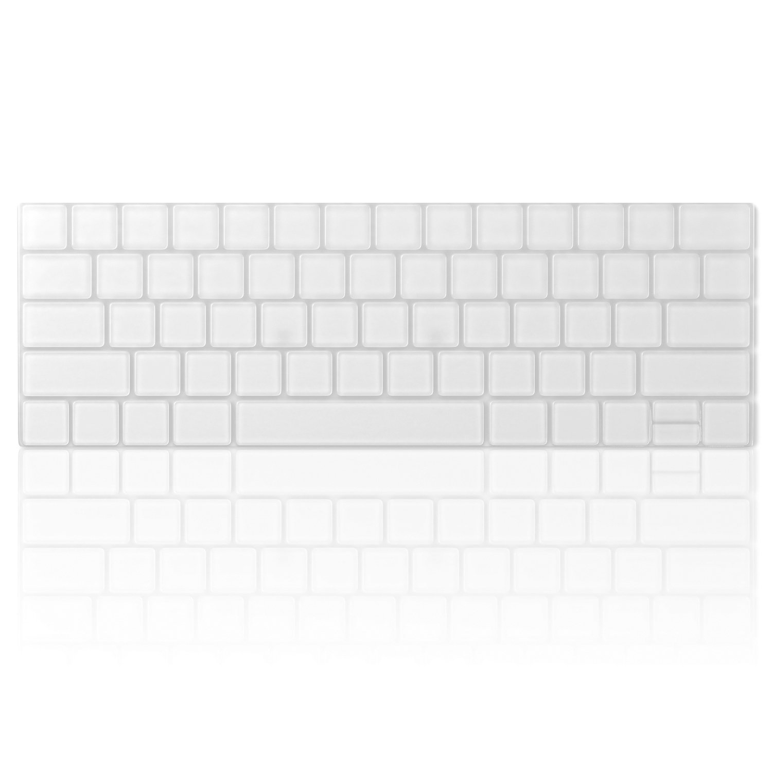 CLEAR MacBook Pro Keyboard Cover with Touch Bar 13 and 15 inch Premium Ultra Thin TPU NEW 2019 2018 2017 2016 Kuzy Skin Protector Apple Model A1989 A1990 A1706 A1707