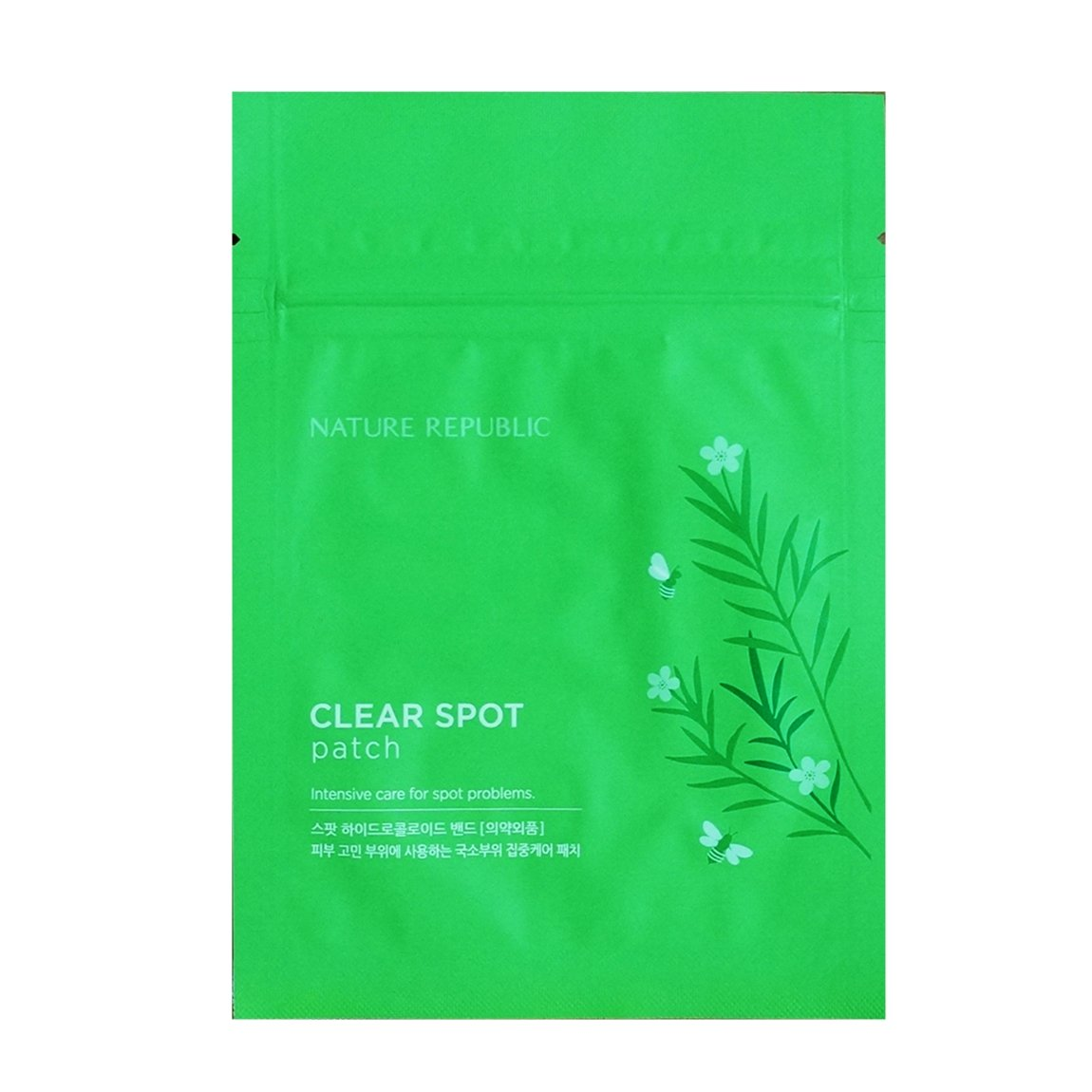 Nature Republic CLEAR SPOT Patches 12 Packs(216 Round Patches) New ADF Hydrocolloid Soma Derm Dressing