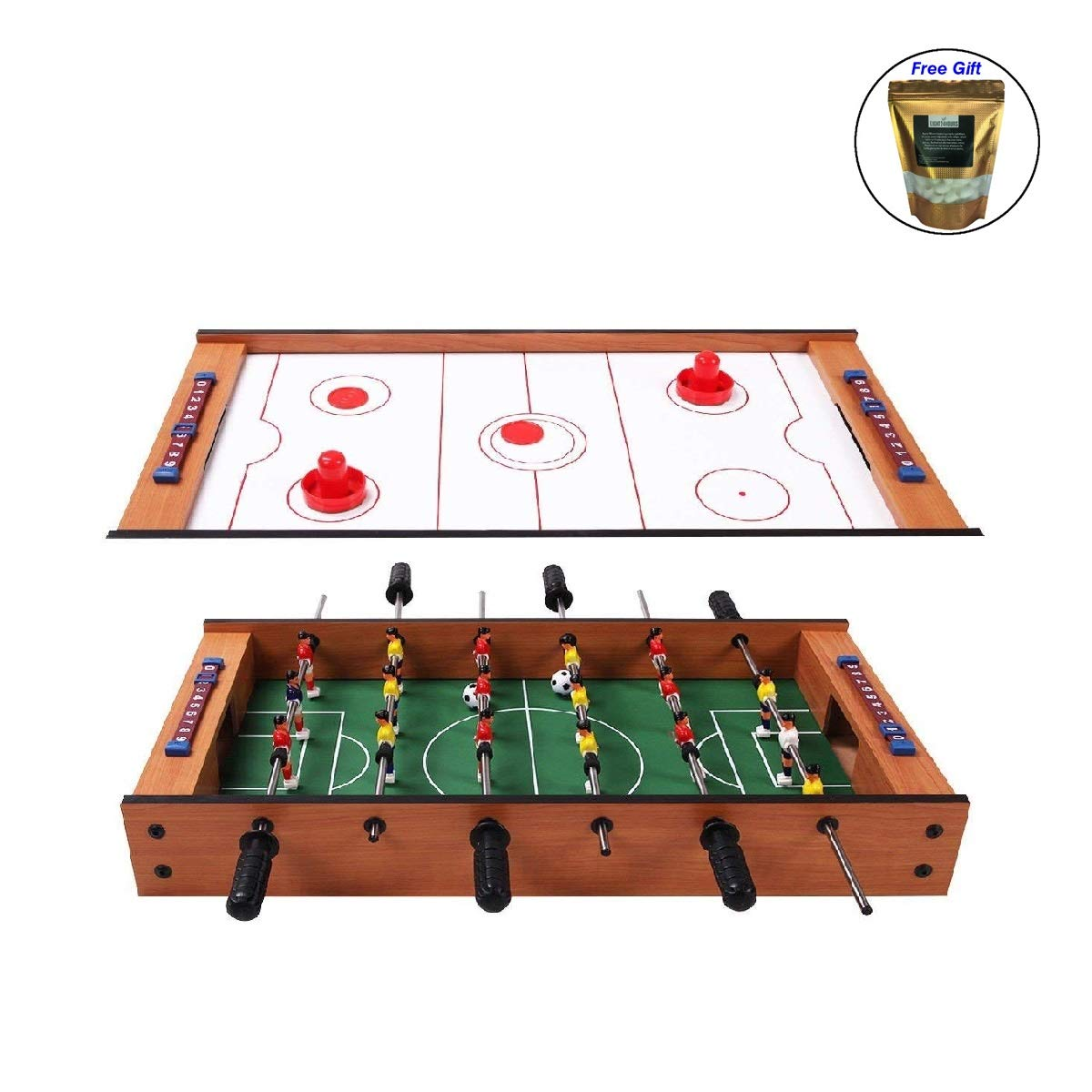 CWY 2 in 1 in Outdoor Air Hockey Foosball Game Table Only by eight24hours Organic Natural Silk Cocoons