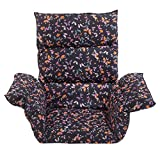 (US) EasyComforts Pressure Reducing Chair Cushion, Butterfly – Wheelchair, armchair, patio chair cushion – Generous sized, washable, polyester/cotton surface