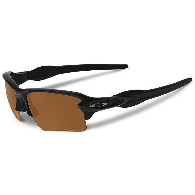 Oakley Flak 2.0 XL Matte Negro – Gafas de sol con bronce Lentes polarizadas