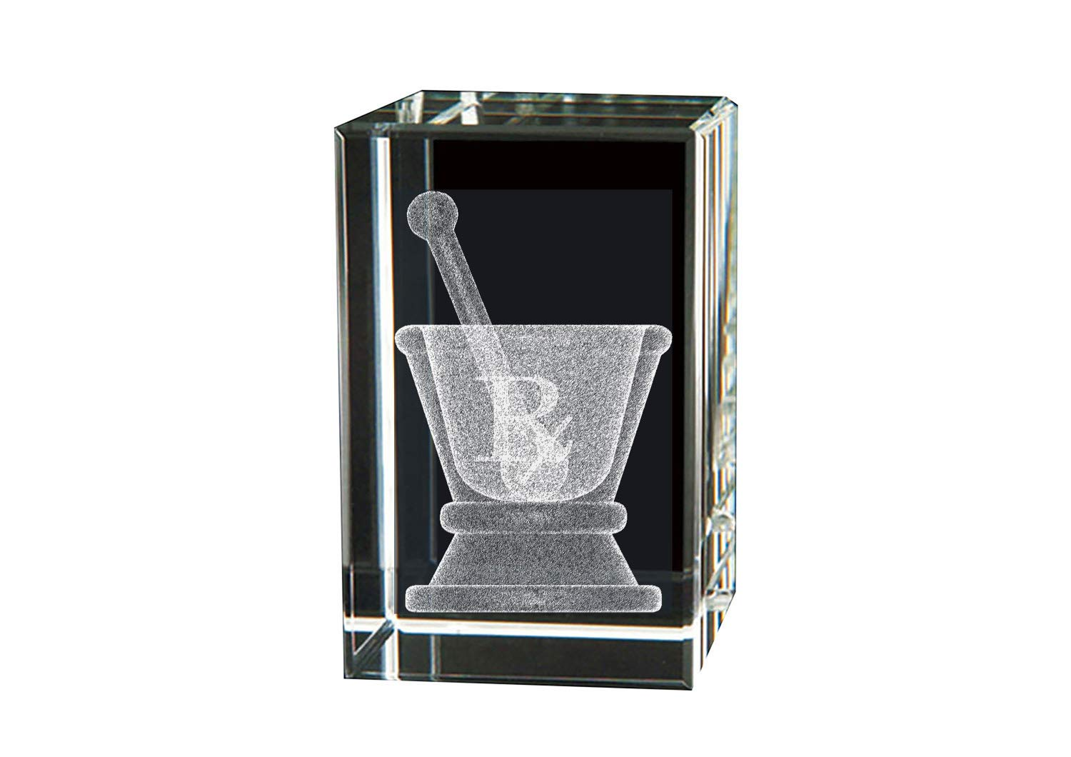 BIT Crystal Symbol of Pharmacy-Mortar and Pestle
