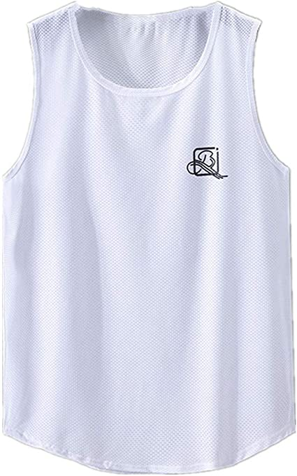 NOBRAND Camiseta sin mangas para hombre Fat Plus tama/ño transpirable hombro