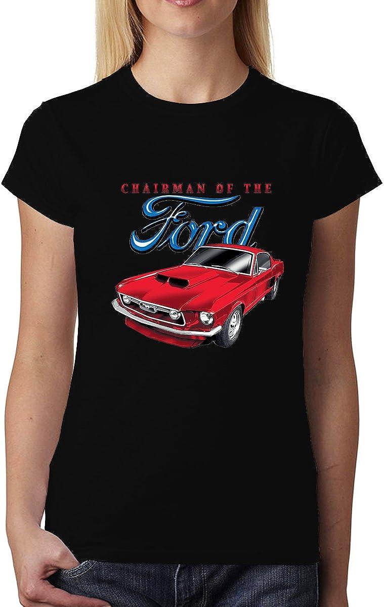 Ford Mustang 1965 Klassisches Auto Damen T-shirt XS-3XL