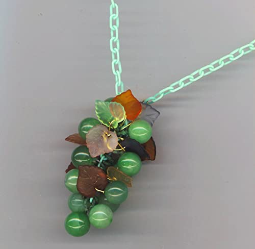 Harvest Rounds and Leaves Necklace