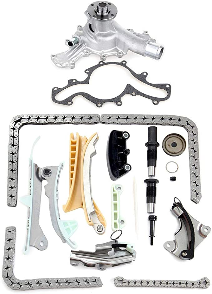 TUPARTS Timing Chain Kit fits for ford Explorer Sport Trac Mustang Ranger for M-azda B4000 4.0L 1997 2009 TK428 KT4038S