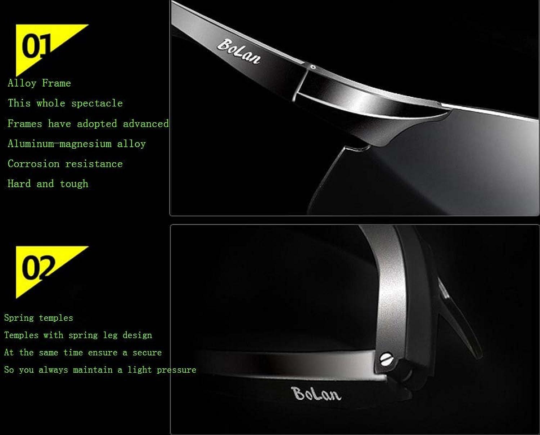 Aluminum-magnesium polarized sunglasses repeatedly ancient sunglasses driver mirror