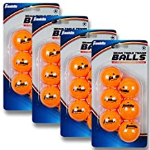 Franklin Sports 1 Star Table Tennis Balls-Pack of 6 (Orange, 40-mm (4 packages, 24 Balls))