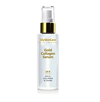 Glyskincare Gold Therapy Gold Collagen Face Serum With Caviar 50ml Amazon In Beauty