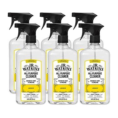 J.R. Watkins All Purpose Cleaner, 24 fl oz, Lemon (6 pack)