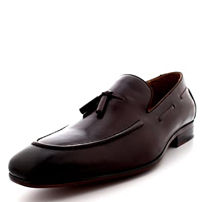 Men's Shoes 2019 New Design Fashion Mens Tassel Shoes Luxury Leather Italian Formal Snake Skin Dress Office Footwear Drop Shipping To Enjoy High Reputation In The International Market