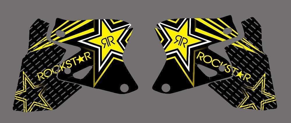 ABRAMOV DMITRY 0026 Star New Style TEAM GRAPHICS DECALS Stickers FOR SUZUKI DRZ400 DRZ DRZ400E DRZ400SM KLX400 ALL YEAR