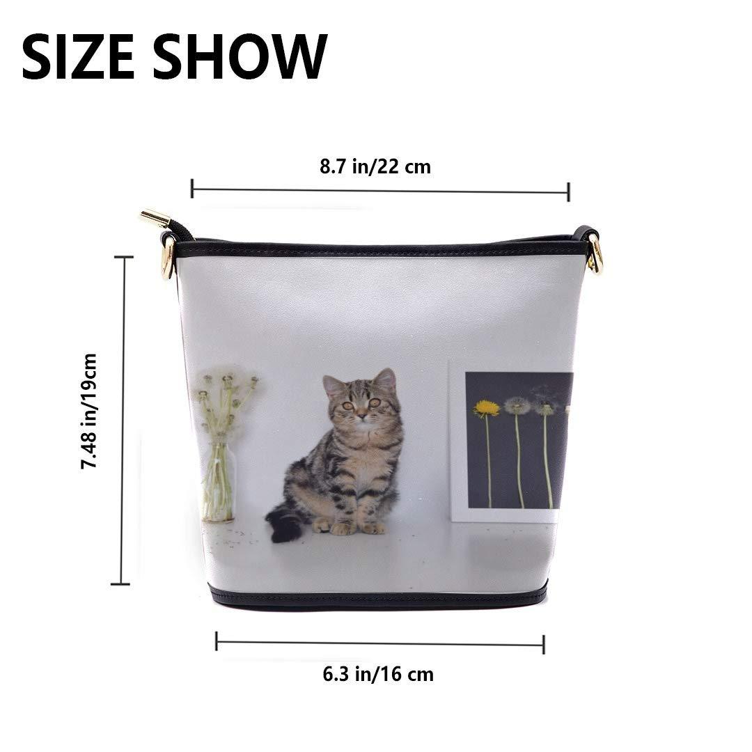 Mens Messenger Shoulder Bag Cats Playing By Vases Multi-functional Wristlet Zipper Pocket Small Wristlet Men Bags Shoulder Fun Handbags Messenger Bag Crossbody