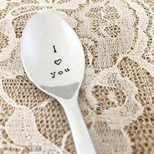 I love you baby spoon, stainless steel, GS