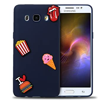 Funda Samsung J7 2016, Carcasa Galaxy J7 2016 Silicona, RosyHeart 3D Ultra Delgado TPU Goma Funda para Samsung Galaxy J7 (2016) J710 Ultrafina Suave ...