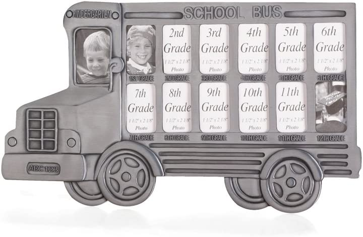 Gifts & Decor School Bus Kid Child Children Theme Photo Picture Frame