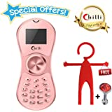 Chilli Spinner Phone World's Slimmest Mobile Phone Cum Spinner Credit Card Sized - Rose Gold