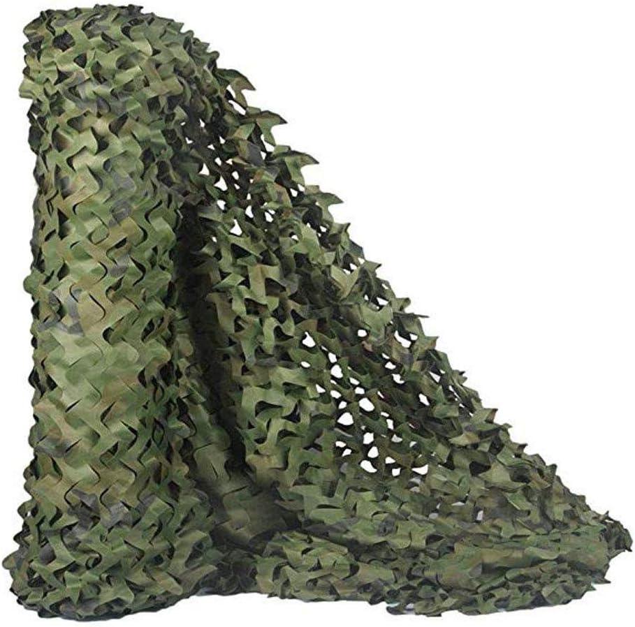 迷彩ネット日焼け止めネット車のカバーガーデンパーゴラスイミングプール釣り屋根ウッドランド砂漠迷彩ネット8M x 6Mグリーン狩猟ブラインド用ブラインドキャンプ射撃 ZHAOFENGMING (Color : 緑, Size : 5M×8M) 緑 5M×8M